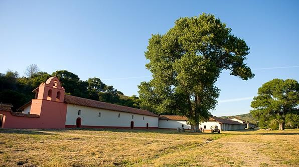 La Purisima Mission in Lompoc, California