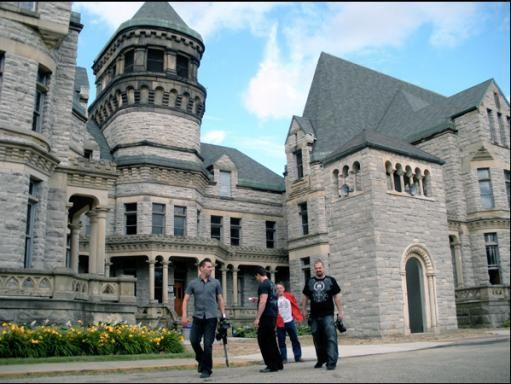 Ohio State Reformatory in Masnfield, Ohio