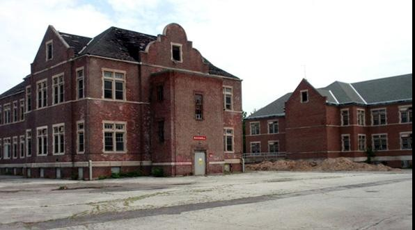 Pennhurst State School in Spring City, Pennsylvania