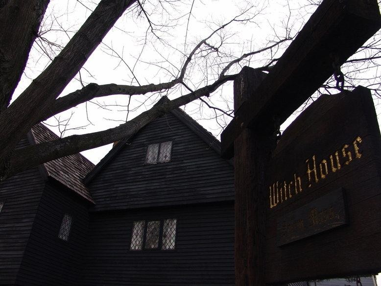 Salem Witch House in Salem, Massachusetts